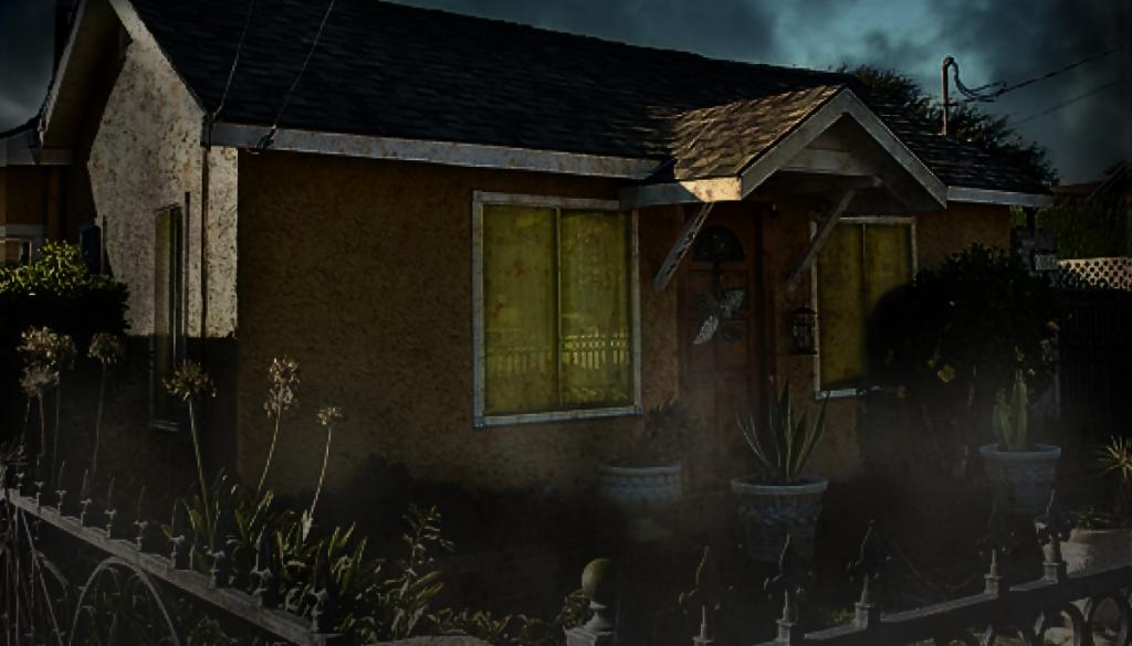 the entity house, where doris bither lived