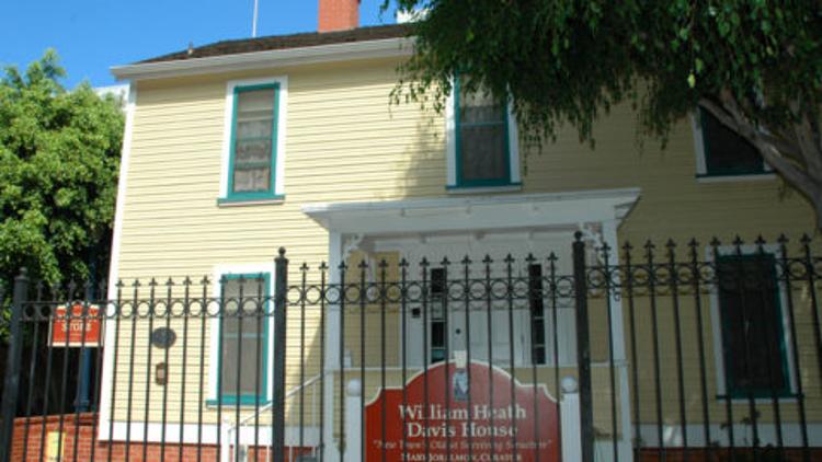 william heath davis house