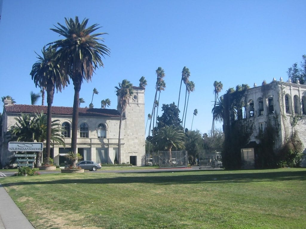 Hollywood Forever Cemetery in Los Angeles
