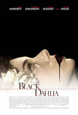 Poster Of Film Black Dahlia